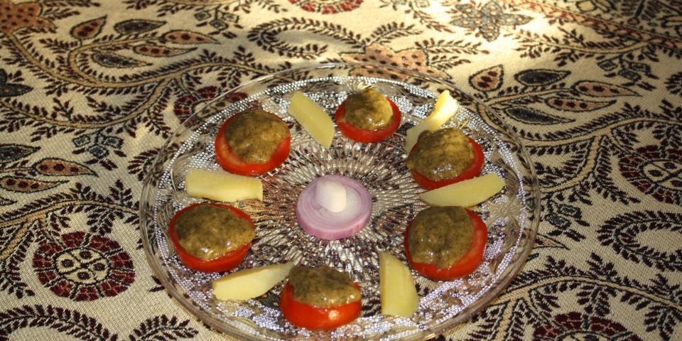 piure special de cartofi cu spanac