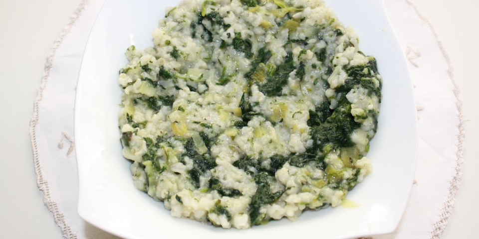 trio verde cu orez