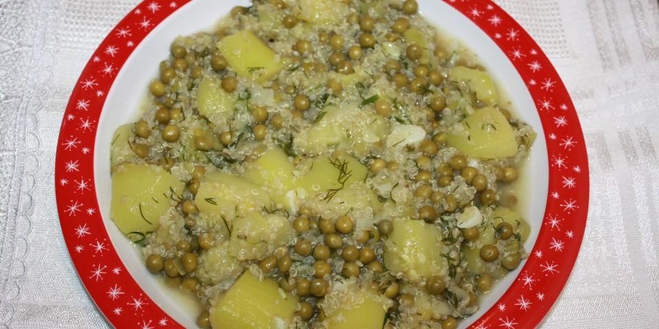 dovlecei cu mazare si quinoa 2
